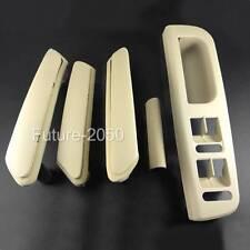 Beige Interior Door Handle With Trim 3B0867172 3B4867372 Set For VW Passat B5