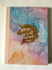 Pastel Gold Unicorn Notebook