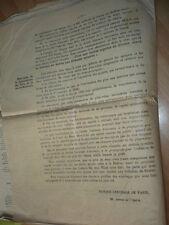 marine document sur le CANAL DES DEUX MERS. 1893