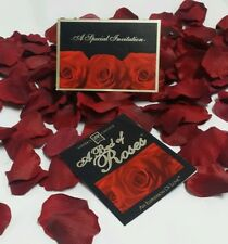 A Bed of Roses - 100 Rose Petals for any occasion!