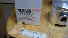NOS OEM Yamaha Piston Kit 1ST O/S YZ125 1980 125cc Com Motocross 3R3-11630-10