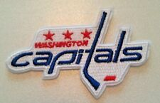 """Washington Capitals Embroidered PATCH~3 1/2"""" x 2 3/8""""~Iron Sew On~NHL~Ships FREE"""