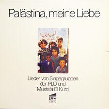 MUSTAFA EL KURD Palastina, Meine Liebe GER Press Plane S 88 112 LP