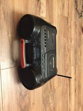 Sony Sports Boombox Cfd-980 Esp Water Resistant Cd Radio Cassette-Corder