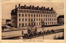 CPA Reims-Quartier Mars, 18e Dragons (490451)