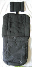 Mamas and Papas Luxury Collection 2 in 1 Footmuff Cityscape Dark Grey Fleck NEW