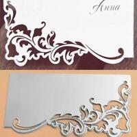 Lace Greeting Card Cover Cutting Dies Metal Stencil Scrapbooking DIY Album Stamp