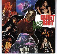 QUIET RIOT: BAD BOY / METAL HEALTH (LIVE) 45 RPM EUROPEAN IMPORT DUBROW SARZO