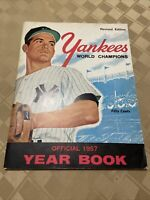 1957 NEW YORK YANKEES World Champions Cover Yearbook Revised Edition