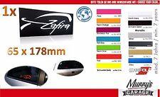 OPEL Zafira A Aufkleber, Sticker, Autocollant, Decal, Étiquette, OPC