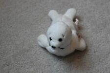 Ty Seamore the Seal Beanie Babies Stuffed Plush White Sea Animals