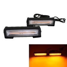 18W * 2 Gelb LED LKW Warnlicht Blitzlicht Leuchtfeuer Notgefahr 12-24V Universal