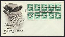 #2113a 'D' Eagle, Art Craft FDC **ANY 4=FREE SHIPPING**