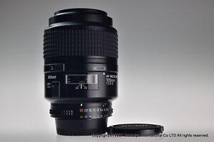 NIKON AF MICRO NIKKOR 105mm f/2.8D Excellent