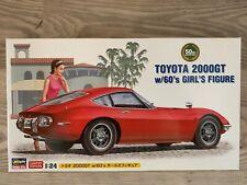 +++ Hasegawa 1/24 Toyota 2000GT mit Frau 52166