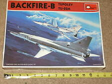 MIB Minicraft 1/144 Russian Tu-22M BACKFIRE B Supersonic Bomber