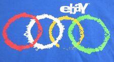 Ebay Corporate Games 2011 Short Sleeve T-Shirt Mens Size 2XL Collectible Ebayana
