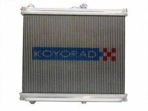 Koyo Aluminum Racing Radiator Manual Transmission For Mazda 86-88 RX-7