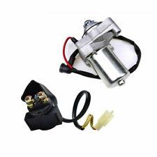 Electric Starter Motor + Relay Solenoid F 110CC ATV TAOTAO ROKETA SUNL 50CC 90CC