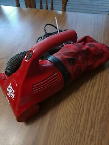 Dirt Devil Ultra Hand Vacuum Corded Mini Vacuum for RV Red Royal Electric 08230