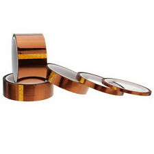 5/10/20/30/50mm 100ft Heat Resistant High Temperature Polyimide Kapton Tape LS30