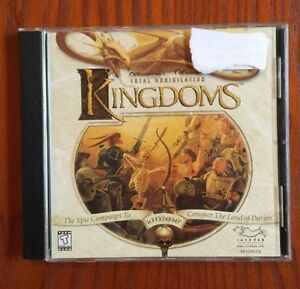 Total Annihilation: Kingdoms PC Game Perfect Condition CLASSIC AND RARE!