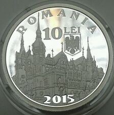 ROMANIA 10 lei 2015 Royal Pelesch PELES castle 140 years ROMANIAN Rumänien