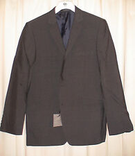 John Lewis 40S Charcoal Wool Blend Textured Stripe Jacket. Taloired Fit RRP £140