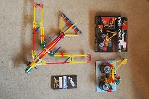 Knex Superjet and Truck Sets - Complete Excellent Condition