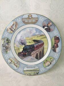 Feats Of Railway Engineering Plate Ribblehead Viaduct Coalport Fine Bone -P64
