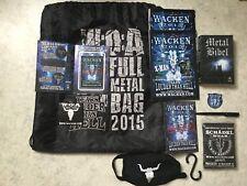 Wacken 2015 Full Metal Bag
