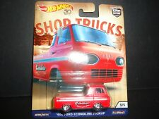 Hot Wheels Ford Econoline Pickup 60 Shop Trucks 1/64