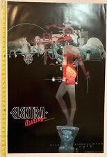 "RARE Elektra Assassin, Vintage Poster, 1987 Marvel Bill Sienkiewicz - 34"" X 22"""