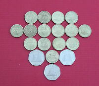 Selection of Various Gibraltar Coins (1p, 2p, 5p, 10p, 20p, 50p, £1, £2, £5)
