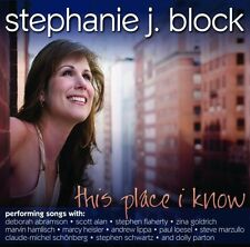 Stephanie J. Block - This Place I Know [New CD]