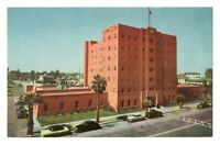 1950s Phoenix AZ Arizona YMCA Building North First Ave Postcard Cars Street