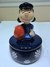 "Peanuts Snoopy Charlie Brown "" Lucy "" Trinket Box Figurine"