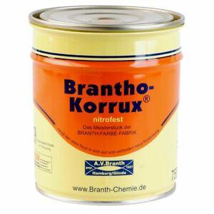 Brantho Korrux nitrofest Rostschutzfarbe 5 Liter RAL-Ton Farbauswahl