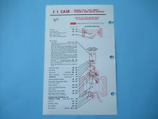 Case 930 1030 Tractor Lubrication Guide Chart