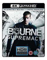 THE BOURNE SUPREMACY- (4K UHD+BD+UV) [Blu-ray] [2017] [DVD][Region 2]