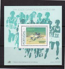 1984 PORTUGAL - XXIII Jogos Olímpicos de Los Angels - bloco N-68 MNH #1147