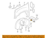 GM OEM-Fender Liner Splash Shield Retainer 25655537