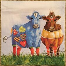 20 paper Napkins Decoupage Scrapbooking Collection Serwetki Family Cow Bull Calf