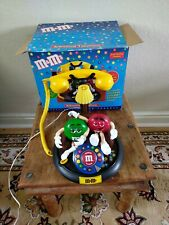 More details for vintage m&m's animated talking light-up telephone phone brown couch red green