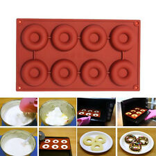 Silicone Donut Muffin Chocolate Cake Candy Cookie Cupcake Baking Mold Mould Pans