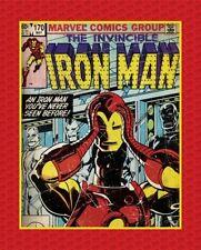 "Camelot Marvel 13020312JP 1 Iron Man 36"" Panel Cotton Fabric FREE SHIPPING"