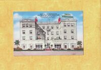CA Santa Monica 1940 postcard 1431 Ocean Ave Hotel Windemere TO Westport CT