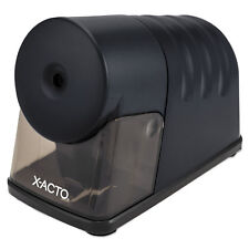 X-ACTO Powerhouse Desktop Electric Pencil Sharpener, Black 1799LMR