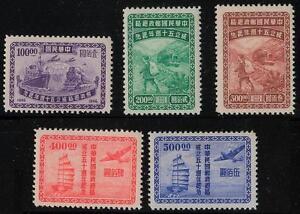China 830 - 834, 1947, 50 Jahre Postverwaltung, (x) wie verausgabt, #n900