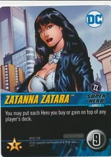 ZATANNA ZATARA DC Comics Deck Building Game Oversized card CONFRONTATIONS LVL 1